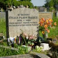 Sylvia Plath gravesite
