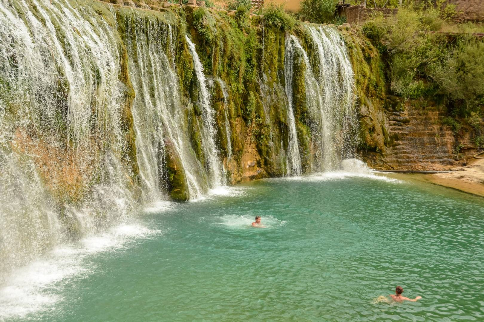 wild swimming spain discover the most beautiful rivers lakes and waterfalls of spain