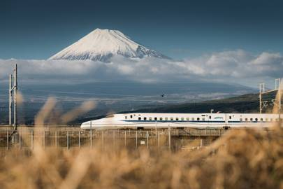 4. Get around via the Shinkansen