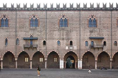 Palazzo Ducale and the Domus Novu