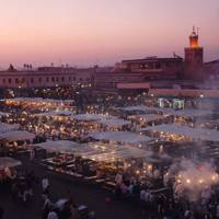 Jemaa el Fna in Marrakech