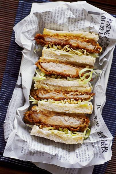 1. Top trend: Japan's deep fried sandwich