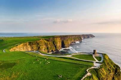 Anjelica Huston - County Clare, Ireland