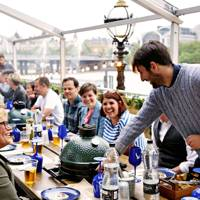 Ongoing: Dine fireside on the South Bank