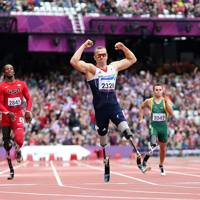 Paralympic Men's 200 metres, London