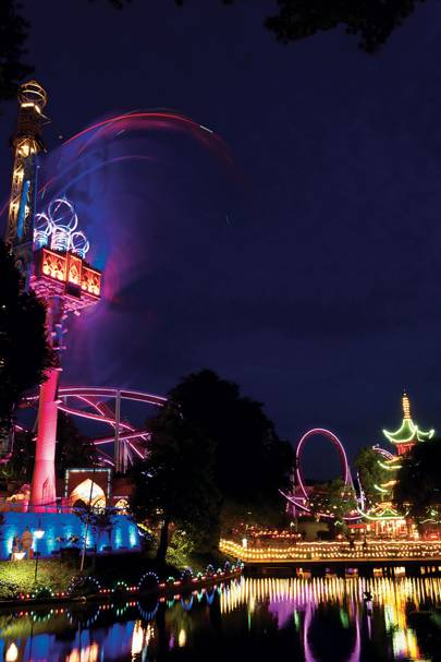 Tivoli by Night