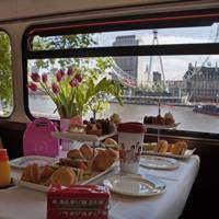 London Bus Afternoon Tea Tour