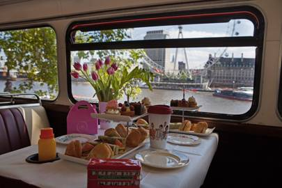 London Bus Afternoon Tea Tour