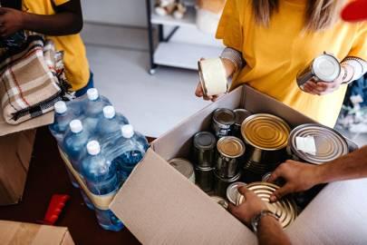 6. Donate to food banks