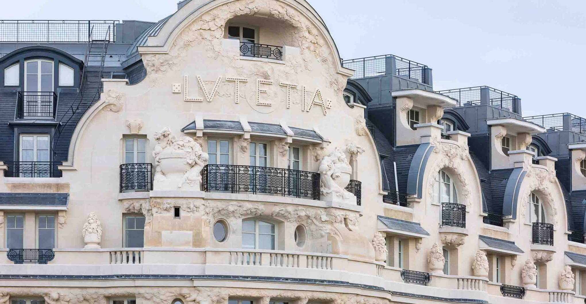 Hotel Lutetia, Paris, France hotel review