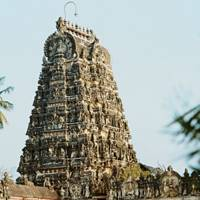 Sunrise at Koviloor temple