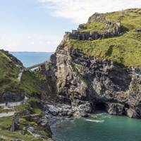 10. Tintagel Castle, Cornwall