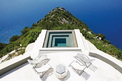 Villa Althea residence pool, Kefalonia, Greece