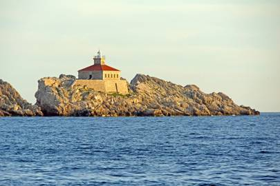 Lighthouse Grebeni, Croatia