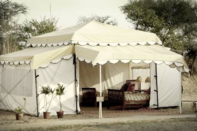 Lakshmi Kutir luxury tented camp, India