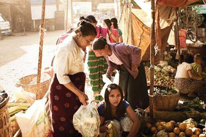 The Burmese people