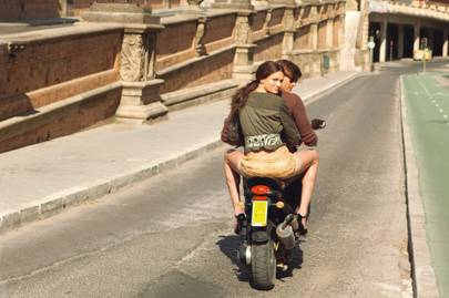 Sightseeing by Vespa