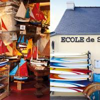 Restaurants and shops in Quimper, Finistère