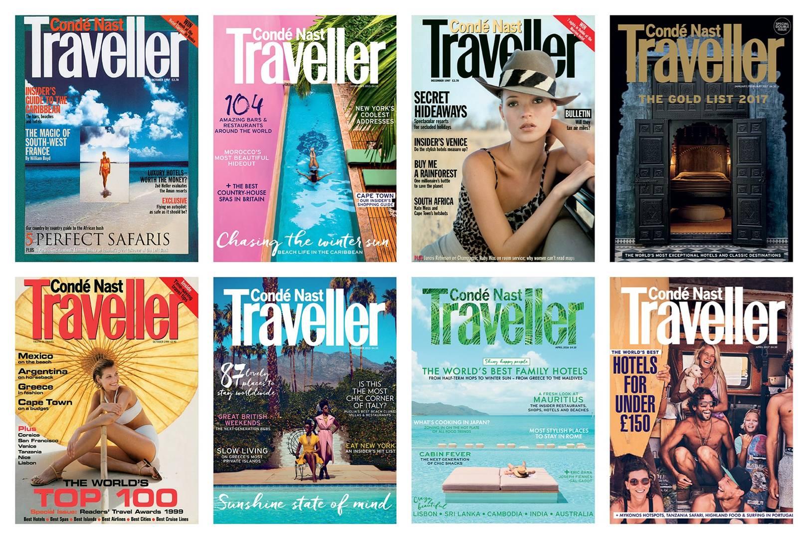 Condé Nast Traveller's best magazine covers | CN Traveller
