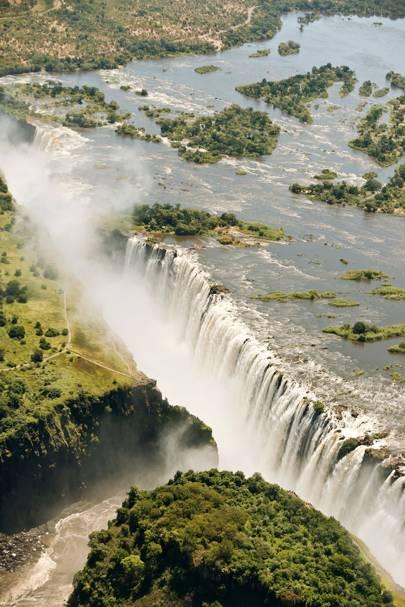 47. Victoria Falls, Zambia and Zimbabwe