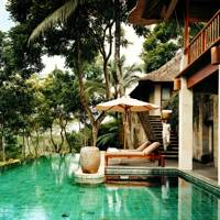 Como Shambhala Estate Bali spa pool