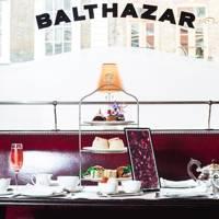 Afternoon tea at Balthazar