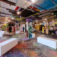 2. Discover the coolest arty hang-out in the city