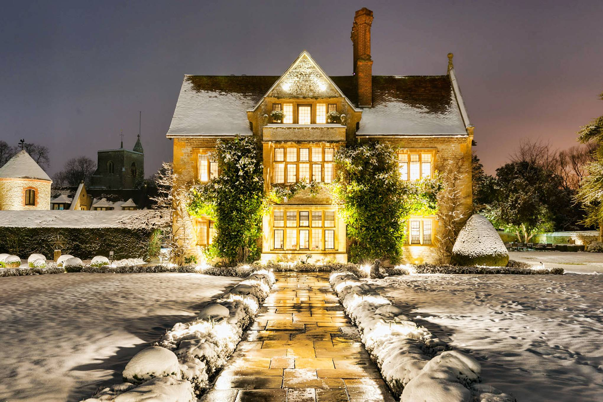 England Christmas Snow.The Best Hotels For Christmas In The Uk 2019 Cn Traveller