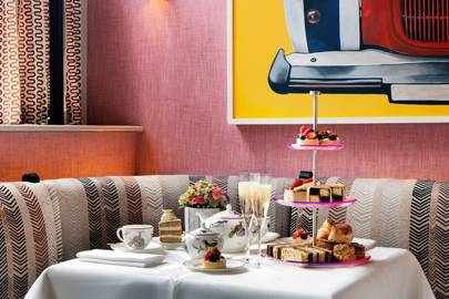 Haymarket Hotel afternoon tea