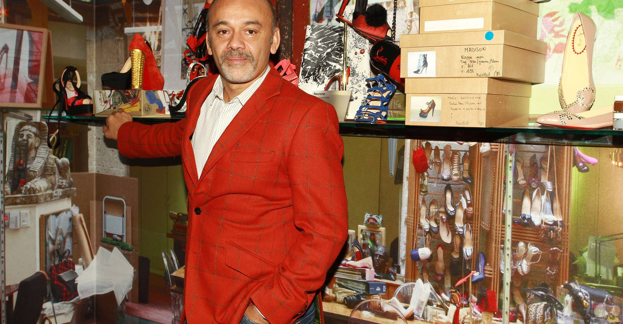 Christian Louboutin on Lisbon