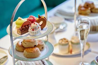 Afternoon tea at JW Marriott Grosvenor House
