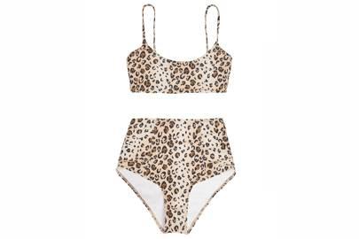 15. Reformation Malibu bikini top, about £50, briefs, about £50