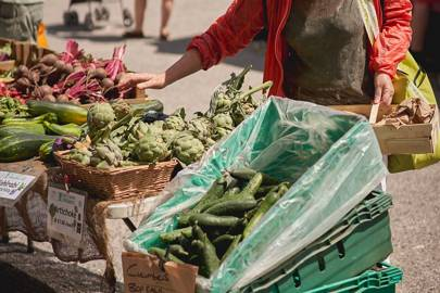 9. Stock up at a local market
