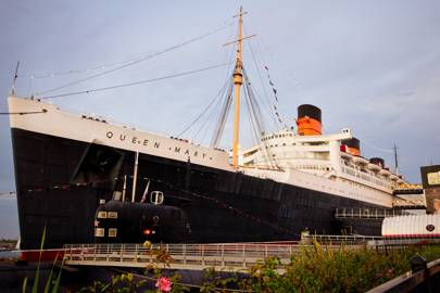 Queen Mary Hotel, Long Beach, California