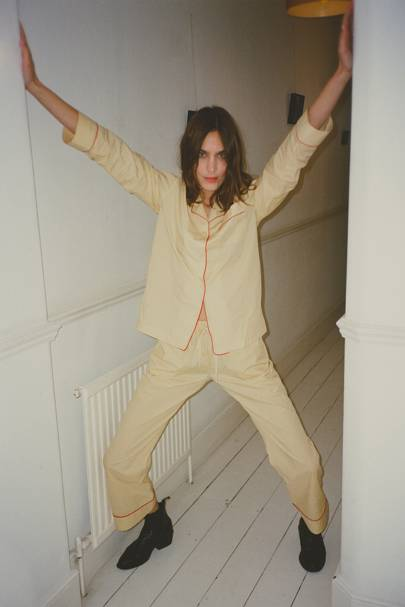ALEXACHUNG pyjama set