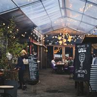 7. Nab a coveted supper booking outside