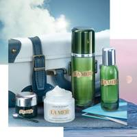 La Mer Travel Essentials set and Arrive Hydrated treatment
