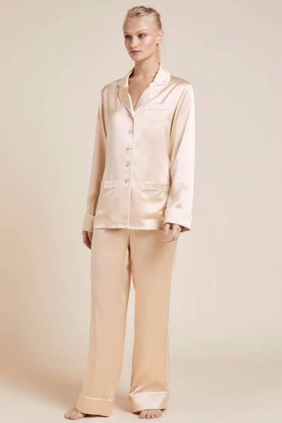 4. Silk pyjamas