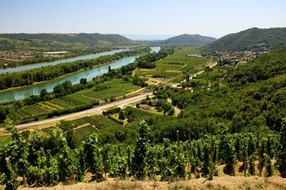 The Rhône Valley, France