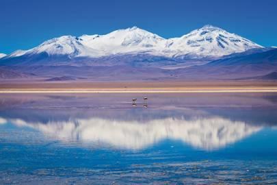 Nevado Tres Cruces' three summits