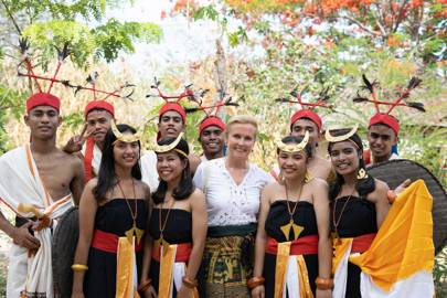 Inge De Lathauwer, Indonesia