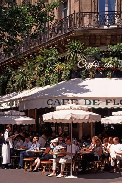 Café de Flore, 6th Arr.