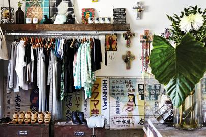 Markets and shops in Byron Bay