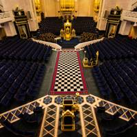 Take a tour of the Masonic Hall