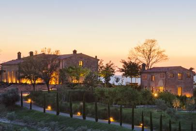 A revamped farmhouse near Siena, Italy
