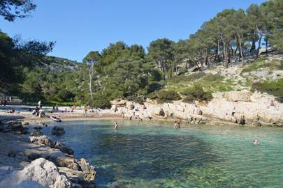 CALANQUE DE PORT-PIN, CALANQUES NATIONAL PARK, CASSIS