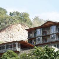 4. For an exclusive first glimpse at Taj Rishikesh in the Himalayas where the Beatles used to meditate