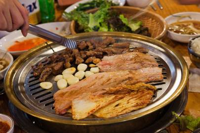 Korean barbeques