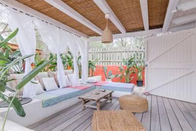 A group retreat at Casa Serena, Ibiza