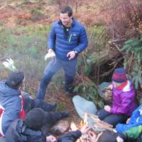 Meeting Bear Grylls